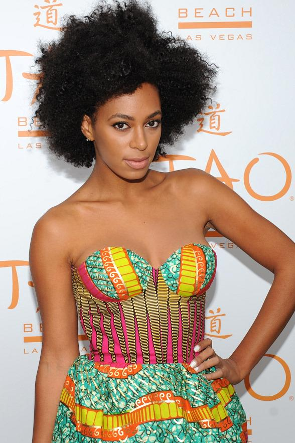 Solange Knowles Natural Hair