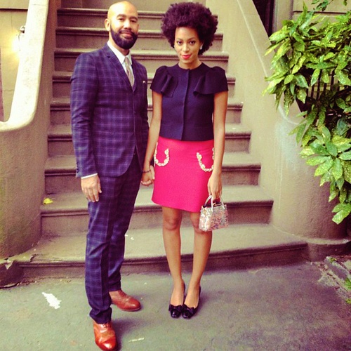 Solange knowles date night and other celeb twitpics of the week