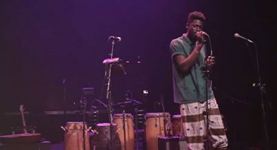 Moses Sumney at The Mayan Theatre July 2013